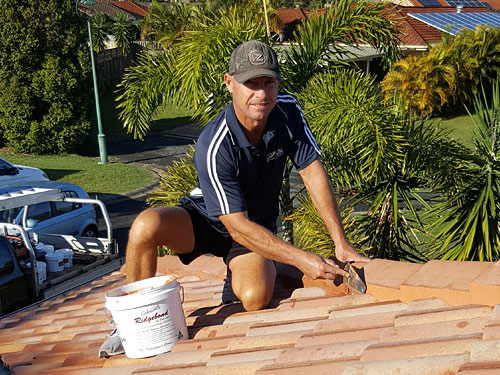 Respraying Gold Coast Roofs