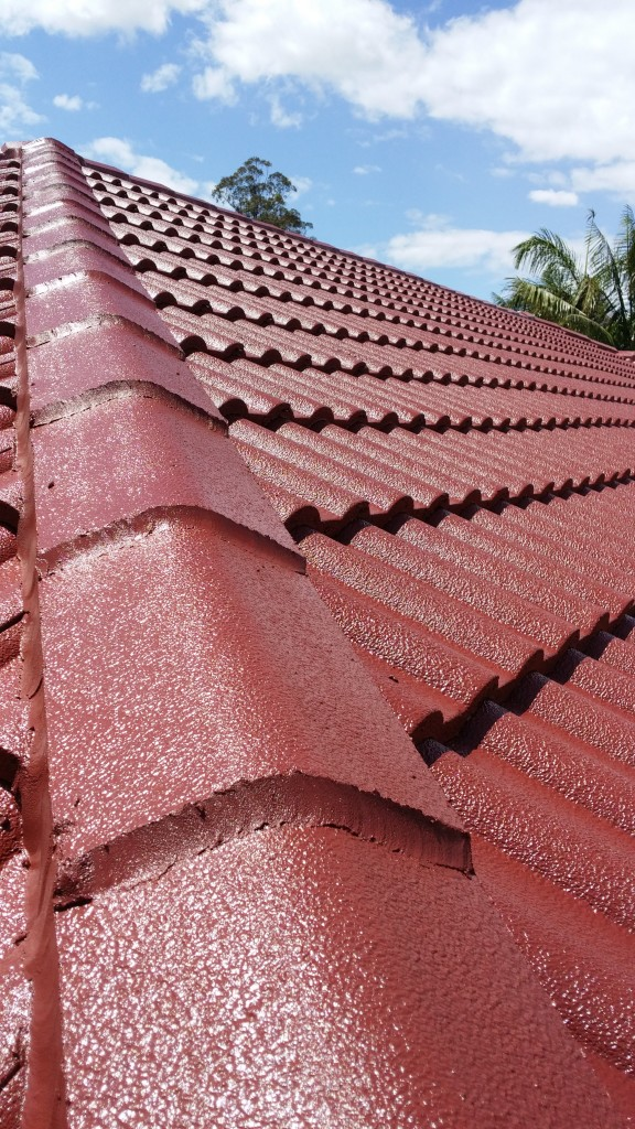 Roof after our roofing services on the Gold Coast